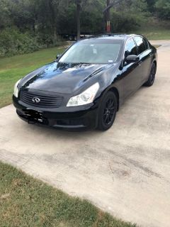 2007 Infiniti G35x w/ Tech Package