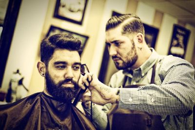 Men's Barbershop, Haircuts for Men and Straight Razor Shaves, Beard Trims at NY