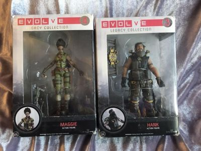 Lot of 2 funko evolve legacy collection figures