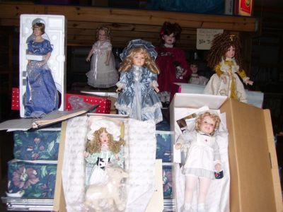 LIFETIME COLLECTION of DOLLS