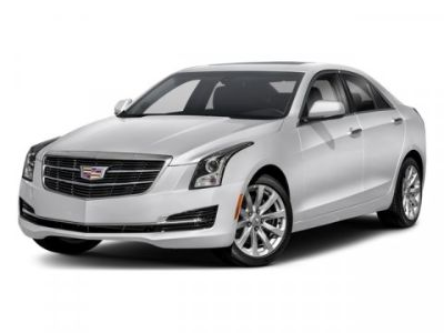 2018 Cadillac ATS Sedan AWD (Crystal White Tricoat)