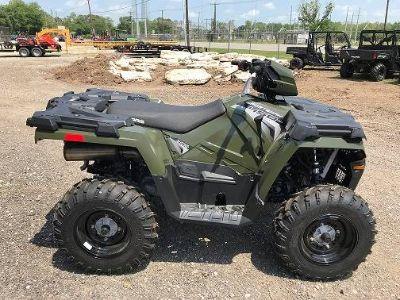 2018 Polaris Sportsman 450 H.O. Utility ATVs Brazoria, TX