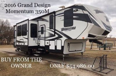 Buy from the owner - 2016 Grand Design Momentum 350M