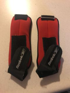 Ankle weights 2.5 lb each