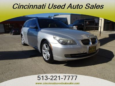 2008 BMW 5-Series 535xi (Titanium Silver Metallic)