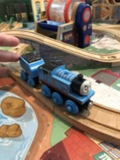 Thomas the Train with coal car