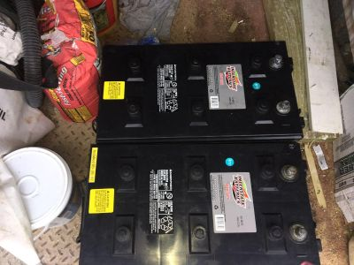 2 - 8D batteries for RV or solar use