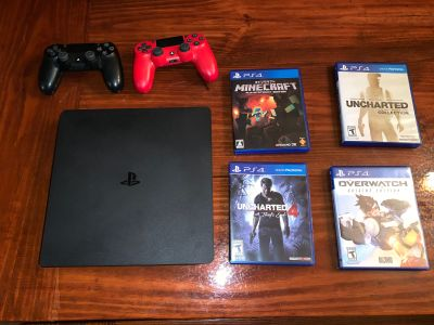 PS4 - 500Gb & Games Bundle
