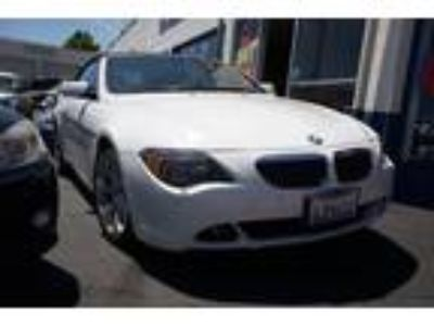 2007 BMW 6-Series 650i Convertible White, Heated Seats, Low Miles