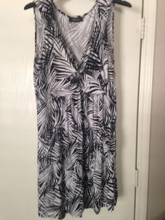 Women's large style&co dress with pockets!
