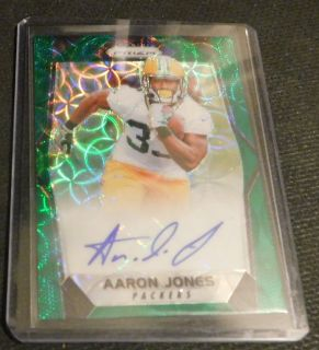 AARON JONES RC 67/99 AUTO UTEP/GREEN BAY
