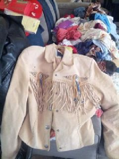 $85 real leather Western jacket