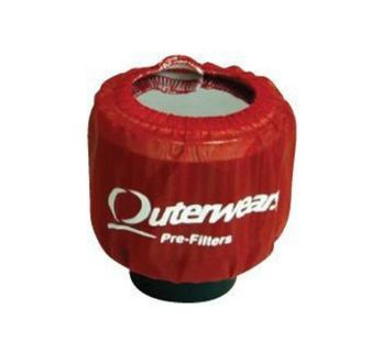 Find Outerwear Red Shielded Breather Pre Filter Dirt Racing UMP IMCA Outer Wear motorcycle in Lincoln, Arkansas, United States, for US $12.46