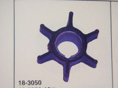 Sell WATER PUMP IMPELLER 18-3050 JOHNSON EVINRUDE OMC REPLACES 386084 OUTBOARD PARTS motorcycle in Osprey, Florida, US, for US $10.95