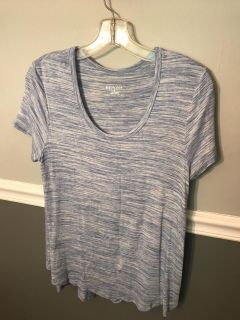 Blue and white shirt from Target size S NWTO