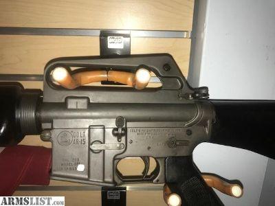 For Sale: 1964 Colt AR-15 SP1 SP-1 Serial # 13xx Near mint condition ALL Original