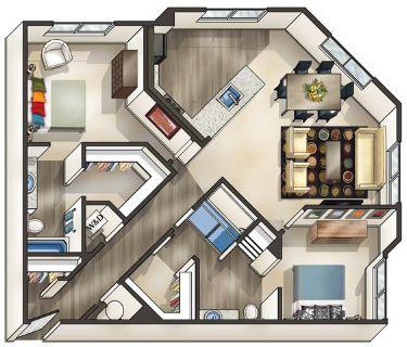 2 bedroom in Alexandria