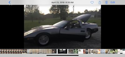 1986 chevy corvette low miles