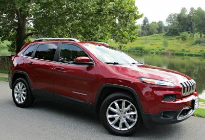 2014 Jeep Cherokee Limited (Red)
