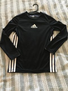 Boys Adidas Climacoo LS Top