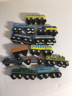 Magnetic trains various brands 13