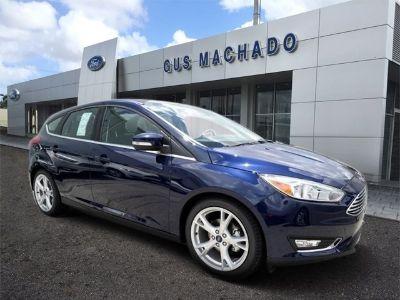 2016 Ford Focus Titanium (Kona Blue)