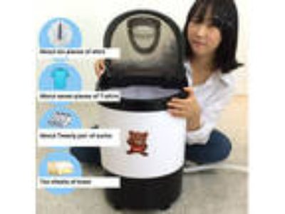 DAEWOONG POWER MOM Mini Washing Machine Portable Washer Spin