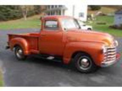 1951 Chevrolet 3100 series pickup.