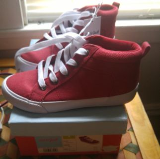 NWT size 1 car & jack sneakers