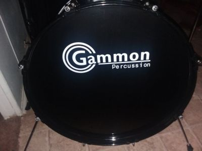 5 piece Gammon Percussion drum set