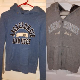 3 Ae Jean's and 2 A&F hoodies