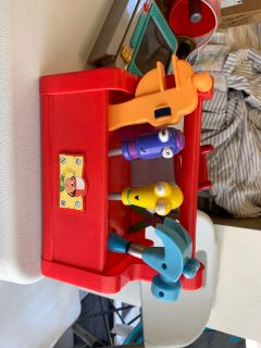 Complete Handy Manny Tool Box