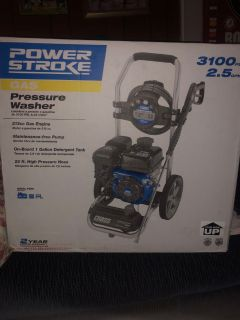 Power Stroke Gas Pressure Washer