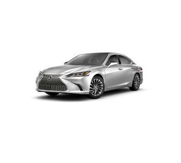 2019 Lexus ES (silver)