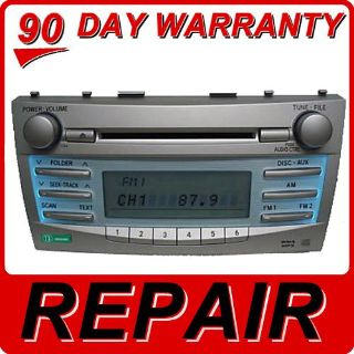 Buy REPAIR SERVICE ONLY Toyota Camry Radio MP3 Single CD Player Bluetooth FIX OEM motorcycle in Burnsville, Minnesota, US, for US $159.00