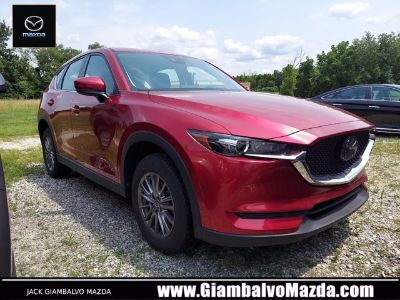 2018 Mazda CX-5 Sport (Soul Red Crystal Metallic)