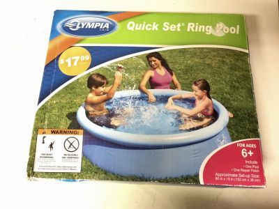Ring Set Swimming Pool (NEW)