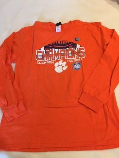 Clemson 2015 ACC Football Champions Large Long Sleeve T