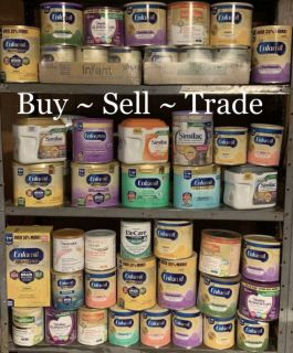 We buy, sell & trade baby formula!!