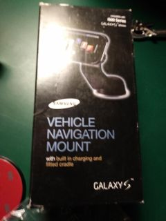 Galaxy s dash mount and charger