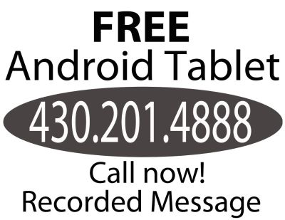 FREE Android Tablet - New in Box