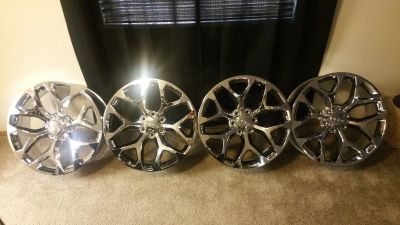 "22"" CHEVY/GMC Rims"