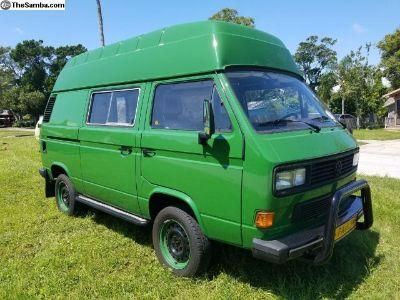 1992 vanagon bubbletop camper 1.9TDI Syncro 4x4 T3