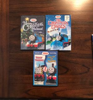 Thomas the Train dvd s
