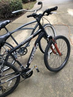 Two bikes 26 inches