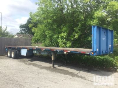 1994 Great Dane T/A Flatbed Trailer