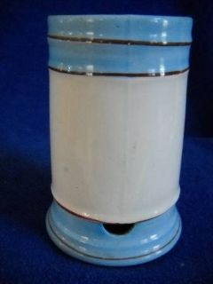 1906 Shaving Mug Bottom Drip Cup Rare Royal Stone China Meddock & CO.