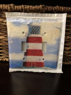 Lighthouse Double Toggle light switch cover