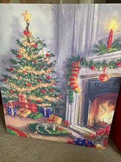 Large Christmas Canvas