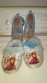 Frozen Slippers and Paw Patrol Shoes
